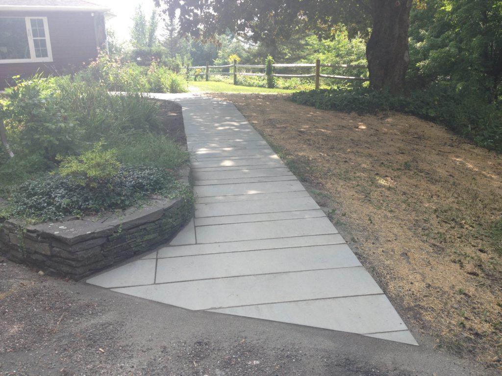 Finished Walkway
